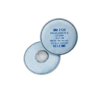 3M 2128 P2 Organik - Ozon Asit Gazı Filtresi