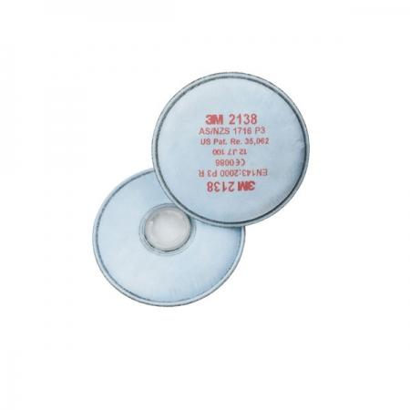 3M 2138 P3 Organik - Ozon Gaz Buhar Filtresi