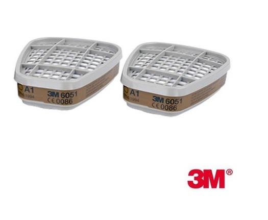 3M 6051 A1 Organik Gaz/Buhar Filtresi