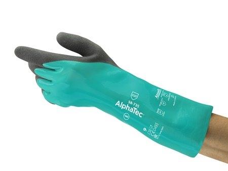 Ansell AlphaTec® 58-735 Kimyasal Koruyucu Eldiven