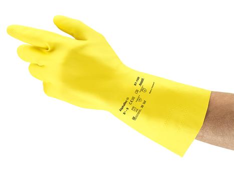 Ansell AlphaTec® 87-190 Kimyasal Koruyucu Eldiven