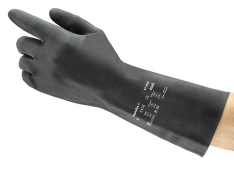 Ansell AlphaTec®38-612 Kimyasal Koruyucu Eldiven