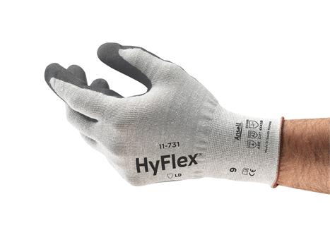 Ansell HyFlex® 11-731 Kesilme Dirençli İş Eldiveni
