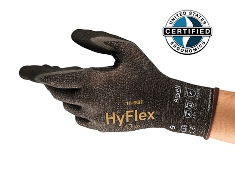 Ansell HyFlex® 11-931 Kesilme Dirençli İş Eldiveni