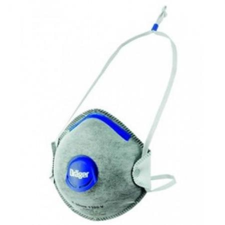 Drager X-Plore 1320 Ventilli Aktif Karbon Filtreli FFP2 Toz Maskesi