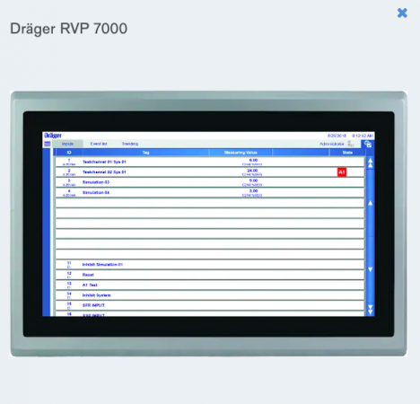 Dräger RVP 7000