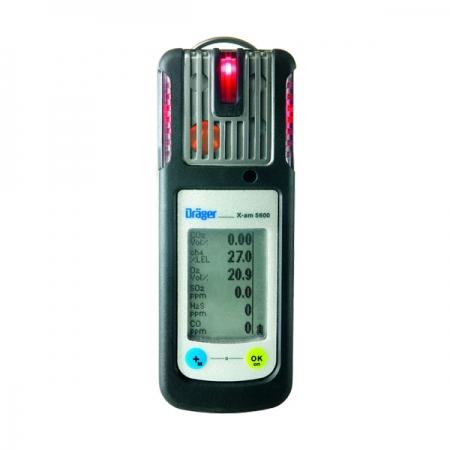 Dräger X-am® 5600 Portatif Gaz Algılama Sensörü