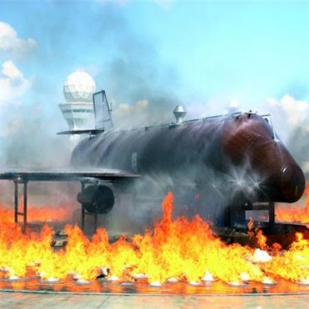 Uçak Yangın Eğitim Sistemleri