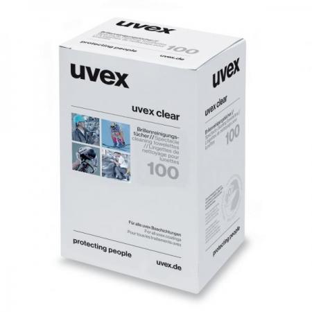 Uvex 9963000 Cam Temizleme Mendilleri