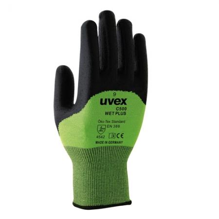 Uvex C500 Wet Plus Kesilme Dirençli İş Eldiveni