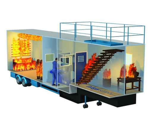 Yangın Simülasyon Treyleri (portatif)